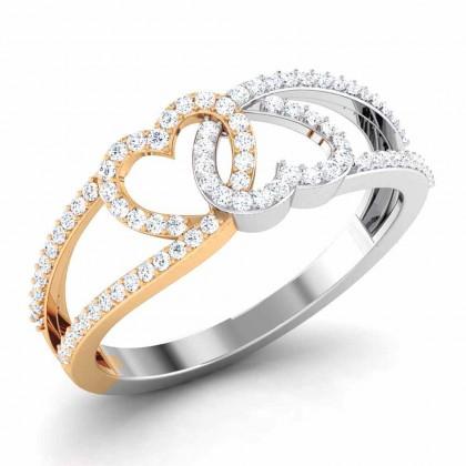 MADILYN DIAMOND CASUAL RING in 18K Gold