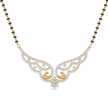SHAMIKA DIAMOND TANMANIYA PENDANT in 18K Gold