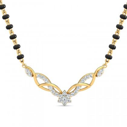 ARMINDA DIAMOND TANMANIYA PENDANT in 18K Gold