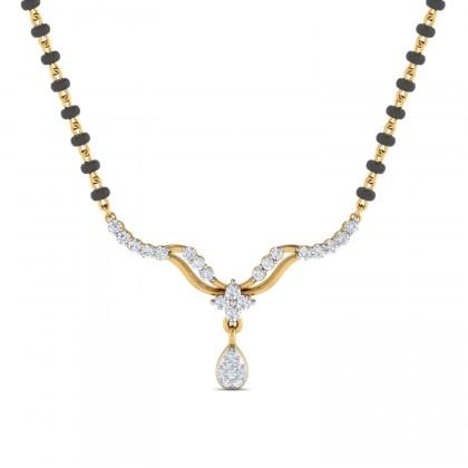 CHRISTEEN DIAMOND TANMANIYA PENDANT in 18K Gold