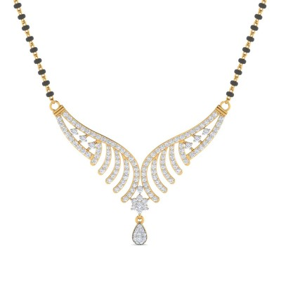 LANNIE DIAMOND TANMANIYA PENDANT in 18K Gold