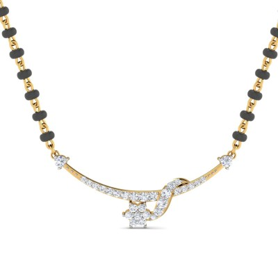 AYESHA DIAMOND TANMANIYA PENDANT in 18K Gold