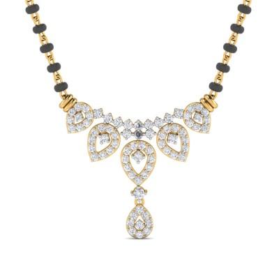 CHRISSY DIAMOND TANMANIYA PENDANT in 18K Gold
