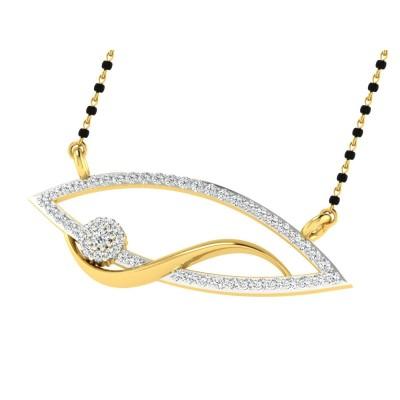 JAIMEE DIAMOND TANMANIYA PENDANT in 18K Gold