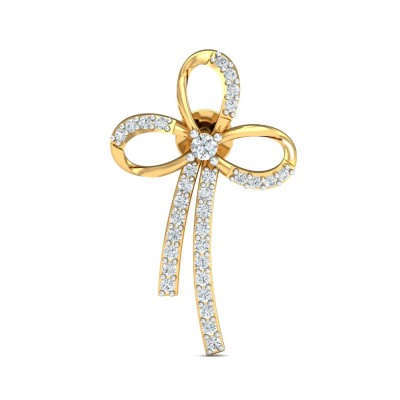 NEVADA DIAMOND STUDS EARRINGS in 18K Gold