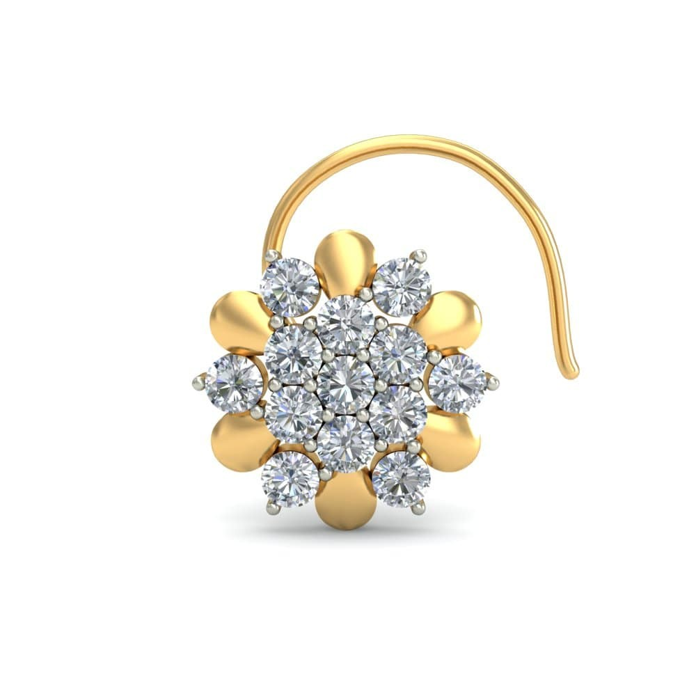 Roya Nosepin India S Online Jewellery Store Solitairehouse Com