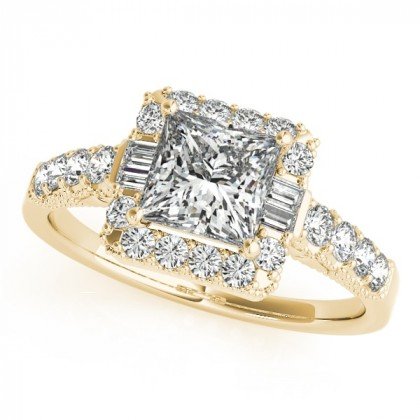 BRYNN ENGAGEMENT RING in 18K Yellow Gold