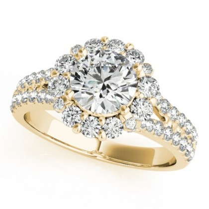 KELLY ENGAGEMENT RING in 18K Yellow Gold