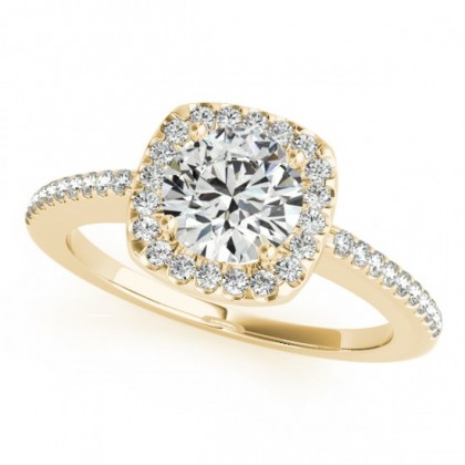 ALBA ENGAGEMENT RING in 18K Yellow Gold