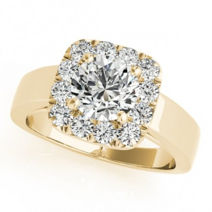 NOELLE ENGAGEMENT RING in 18K Yellow Gold