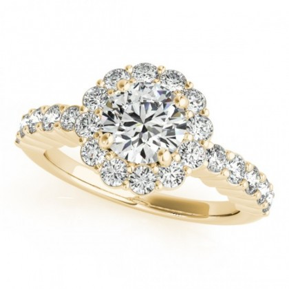 JORDAN ENGAGEMENT RING in 18K Yellow Gold