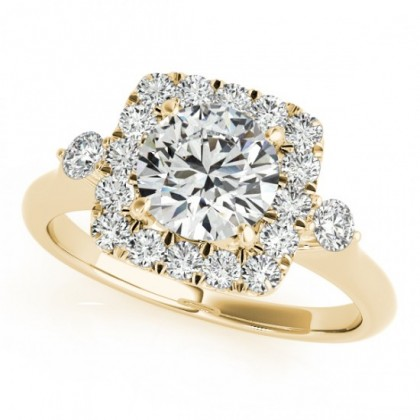 MIRA ENGAGEMENT RING in 18K Yellow Gold
