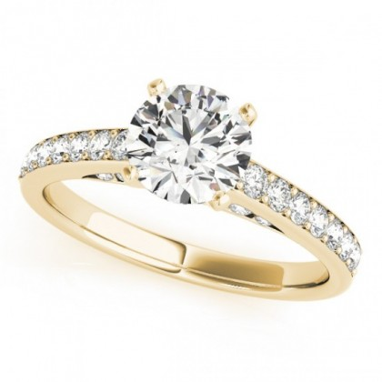 RIYA ENGAGEMENT RING in 18K Yellow Gold