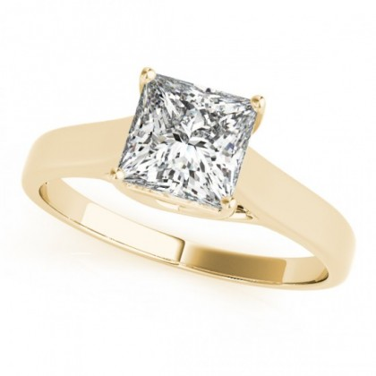 SAMANTHA ENGAGEMENT RING in 18K Yellow Gold