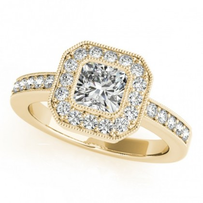 KASSANDRA ENGAGEMENT RING in 18K Yellow Gold
