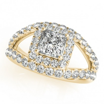 DIANA ENGAGEMENT RING in 18K Yellow Gold