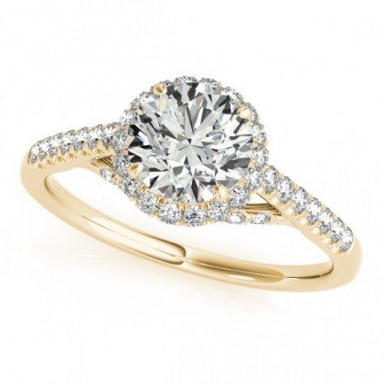 MAYA ENGAGEMENT RING in 18K Yellow Gold