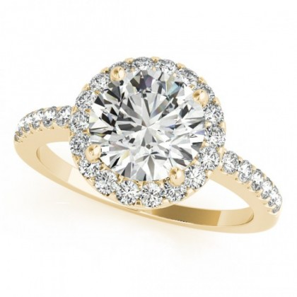 KENNEDY ENGAGEMENT RING in 18K Yellow Gold