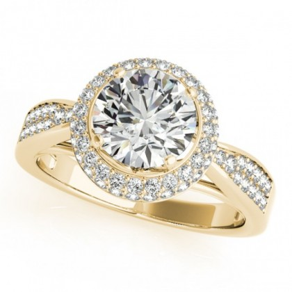 KARMEN ENGAGEMENT RING in 18K Yellow Gold