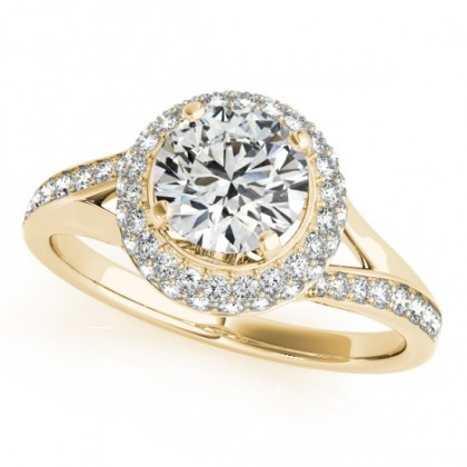 KHLOEE ENGAGEMENT RING in 18K Yellow Gold