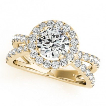 CAPRI ENGAGEMENT RING in 18K Yellow Gold