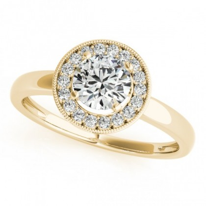 ANYA ENGAGEMENT RING in 18K Yellow Gold