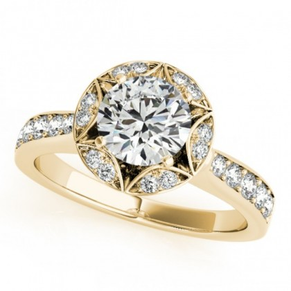 CARTER ENGAGEMENT RING in 18K Yellow Gold