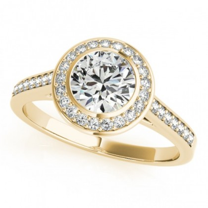 ZARA ENGAGEMENT RING in 18K Yellow Gold