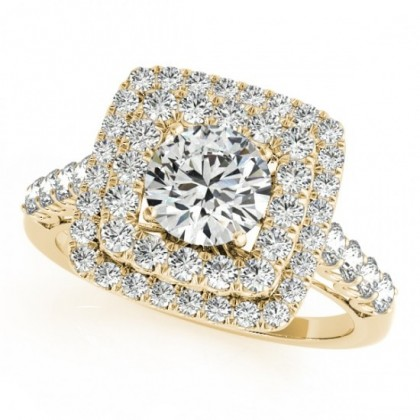 SAVANAH ENGAGEMENT RING in 18K Yellow Gold