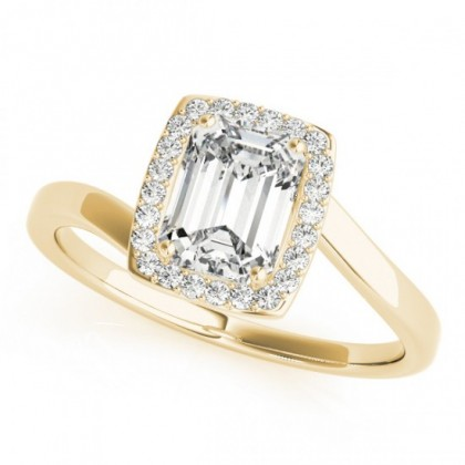 AVERY ENGAGEMENT RING in 18K Yellow Gold