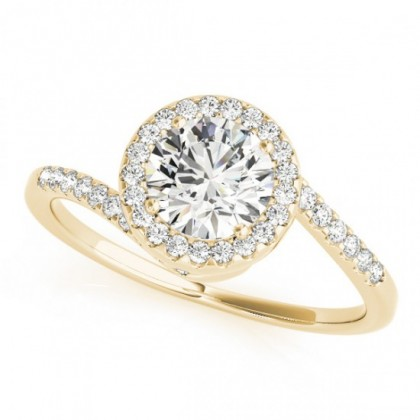 JILLIAN ENGAGEMENT RING in 18K Yellow Gold