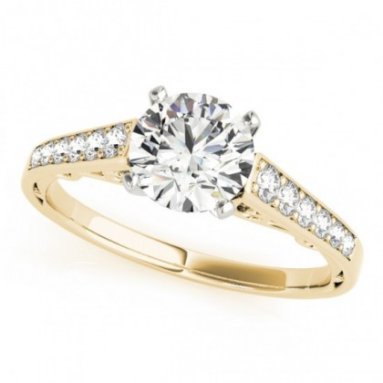 EDEN ENGAGEMENT RING in 18K Yellow Gold