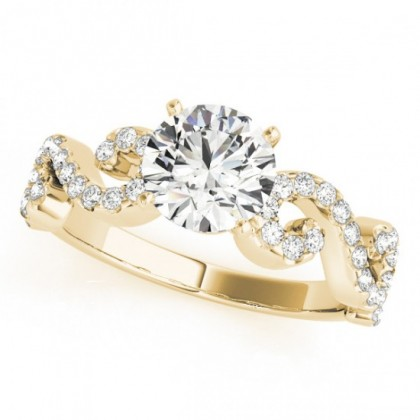 NATALIE ENGAGEMENT RING in 18K Yellow Gold