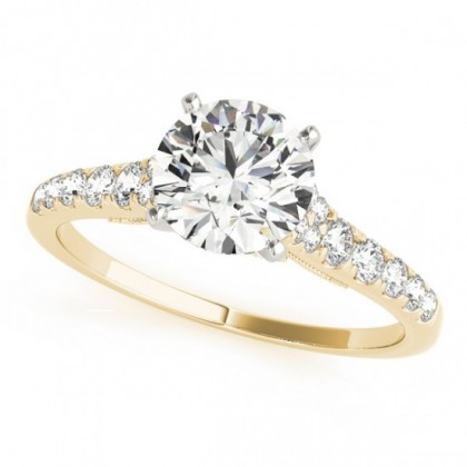 HAVANA ENGAGEMENT RING in 18K Yellow Gold
