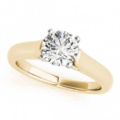 LORENA ENGAGEMENT RING in 18K Yellow Gold