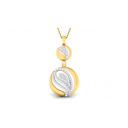 RITI DIAMOND FASHION PENDANT in 18K Gold