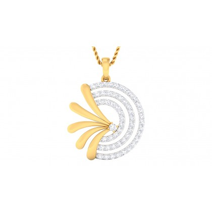 SHYAMA DIAMOND FASHION PENDANT in 18K Gold