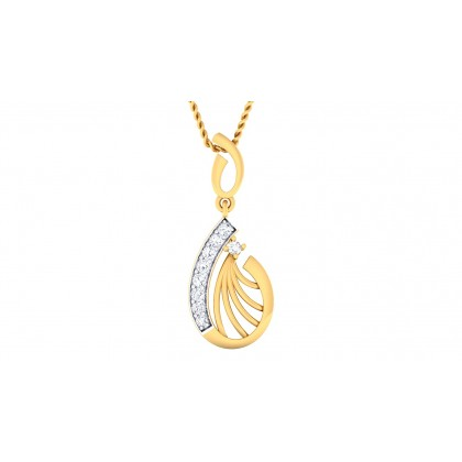 PARVINI DIAMOND FASHION PENDANT in 18K Gold