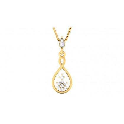 KUSHALA DIAMOND FASHION PENDANT in 18K Gold