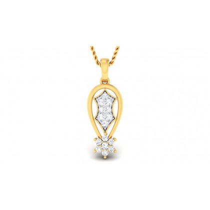 PRIYA DIAMOND FASHION PENDANT in 18K Gold