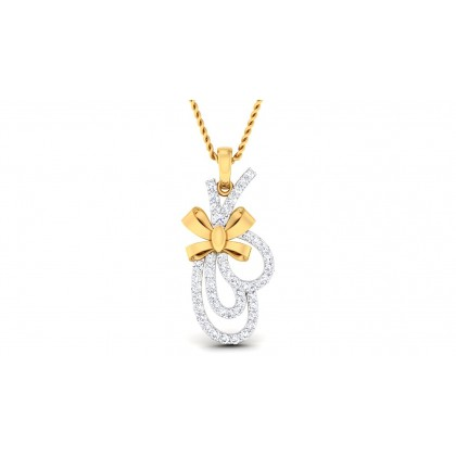 DIVYA DIAMOND FASHION PENDANT in 18K Gold