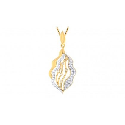 LUCIA DIAMOND FASHION PENDANT in 18K Gold