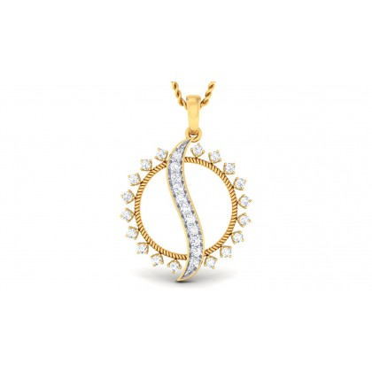 VANANI DIAMOND FASHION PENDANT in 18K Gold