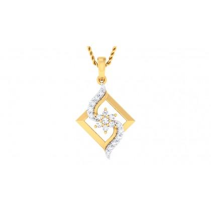 SEHAJ DIAMOND FASHION PENDANT in 18K Gold