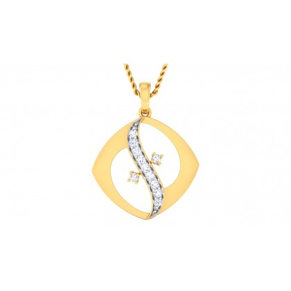 LIPI DIAMOND FASHION PENDANT in 18K Gold
