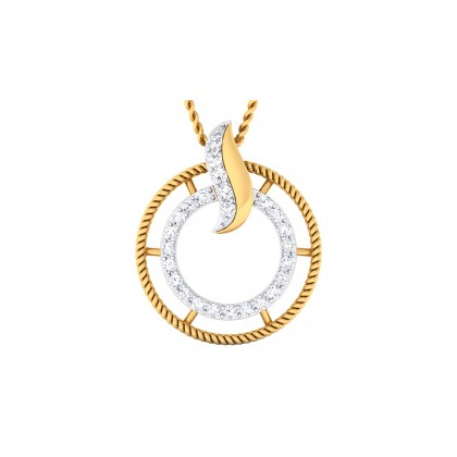 AMAYAH DIAMOND FASHION PENDANT in 18K Gold
