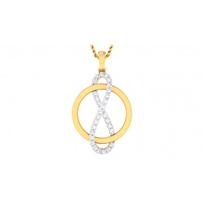 ARNI DIAMOND FASHION PENDANT in 18K Gold