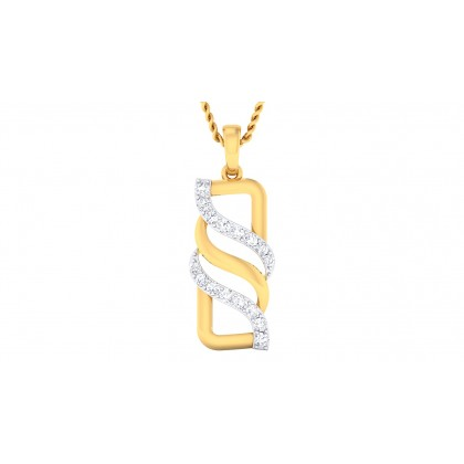 KRITI DIAMOND FASHION PENDANT in 18K Gold
