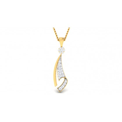 DEVISHI DIAMOND FASHION PENDANT in 18K Gold