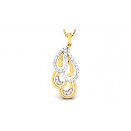 NAVIKA DIAMOND FASHION PENDANT in 18K Gold